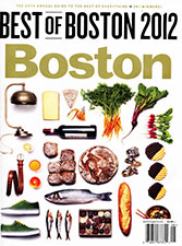 2012 Boston Magazine Best of Boston