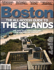 Boston Magazine June 2008 Cover